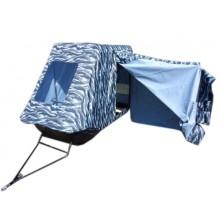 """Сани для снегохода """"Классика 180"""" с палаткой рыбака"""
