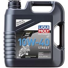 Масло LIQUI MOLY Motorbike 4T Street 10W-40 (HC-синтетическое) 4л.