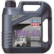 Масло LIQUI MOLY ATV 4T Motoroil 10W-40 (НС-синтетическое) для квадроциклов 4л.