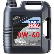 Масло LIQUI MOLY Snowmobil Motoroil 0W-40 (синтетическое) для снегоходов 4л.