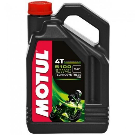 Масло MOTUL 5100 4T 10W40 4 литра