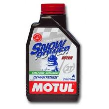 Масло MOTUL SnowPower 2T 1 литр