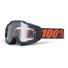 Очки 100% Accuri Enduro Gunmetal / Clear Dual Lens