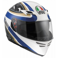 Шлем AGV Skyline Multi Wings - White/Black/Blue