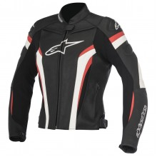 Куртка кожаная Alpinestars STELLA GP PLUS R v2 LEATHER JACKET