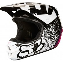 Шлем Fox V1 Halyn Helmet Black/Pink