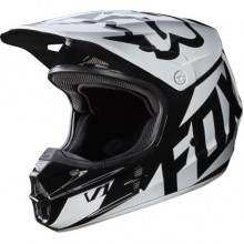 Мотошлем Fox V1 Race Helmet Black