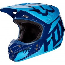 Шлем Fox V1 Race Helmet Navy