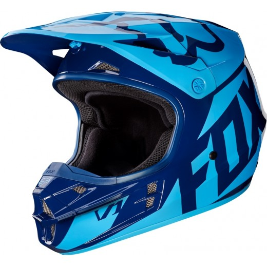 Мотошлем Fox V1 Race Helmet Navy