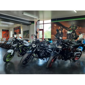 Поступление мотоциклов Kawasaki