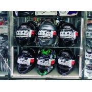 Большой выбор шлемов Shoei